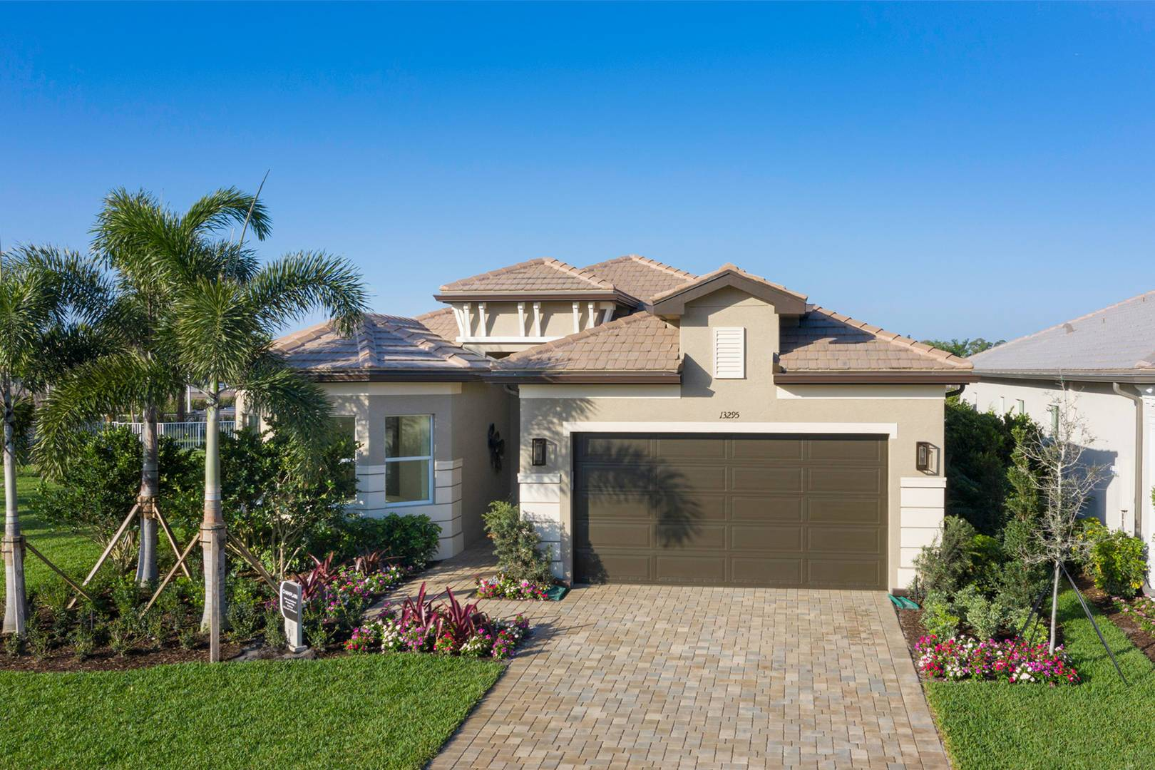 Exterior featured in the Champlain By GL Homes in Palm Beach County, FL