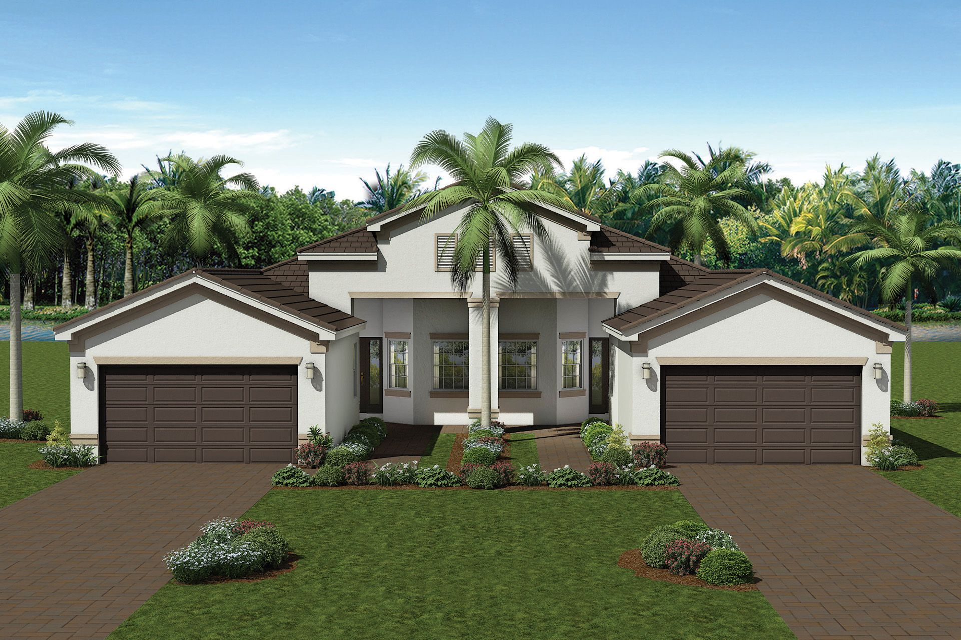Exterior featured in the Bristol By GL Homes in Fort Myers, FL