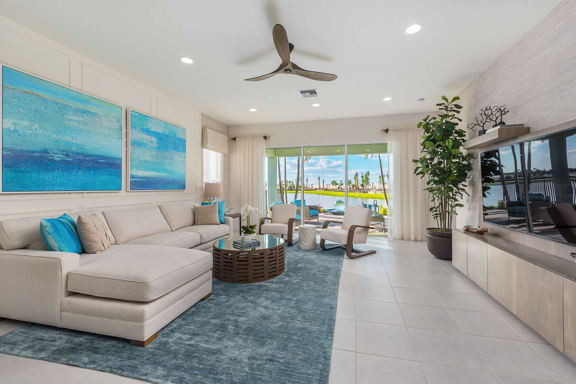 Living Area featured in the Tribeca By GL Homes in Fort Myers, FL