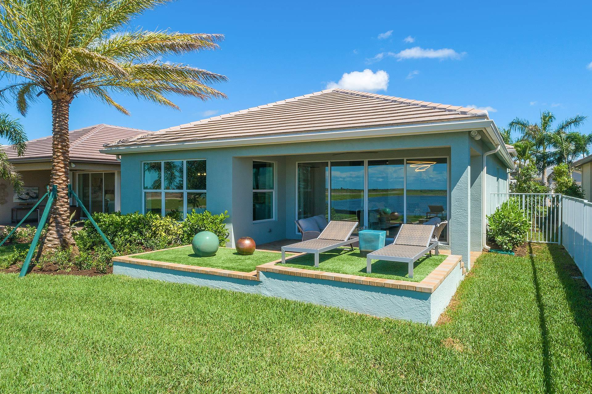 Exterior featured in the Sierra By GL Homes in Martin-St. Lucie-Okeechobee Counties, FL