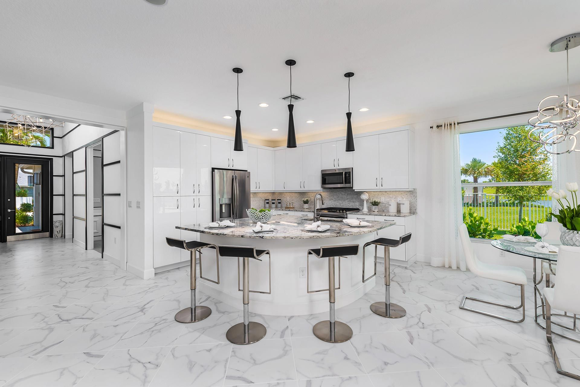 Kitchen featured in the Atlantica By GL Homes in Martin-St. Lucie-Okeechobee Counties, FL
