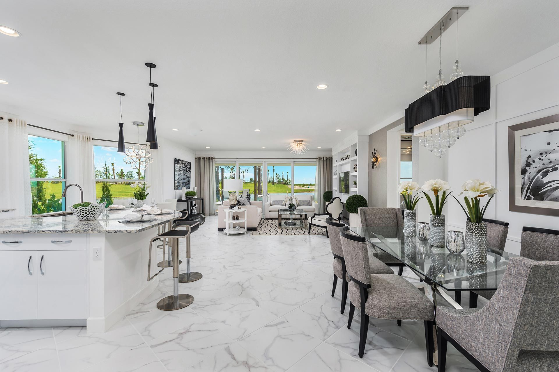 Living Area featured in the Atlantica By GL Homes in Martin-St. Lucie-Okeechobee Counties, FL