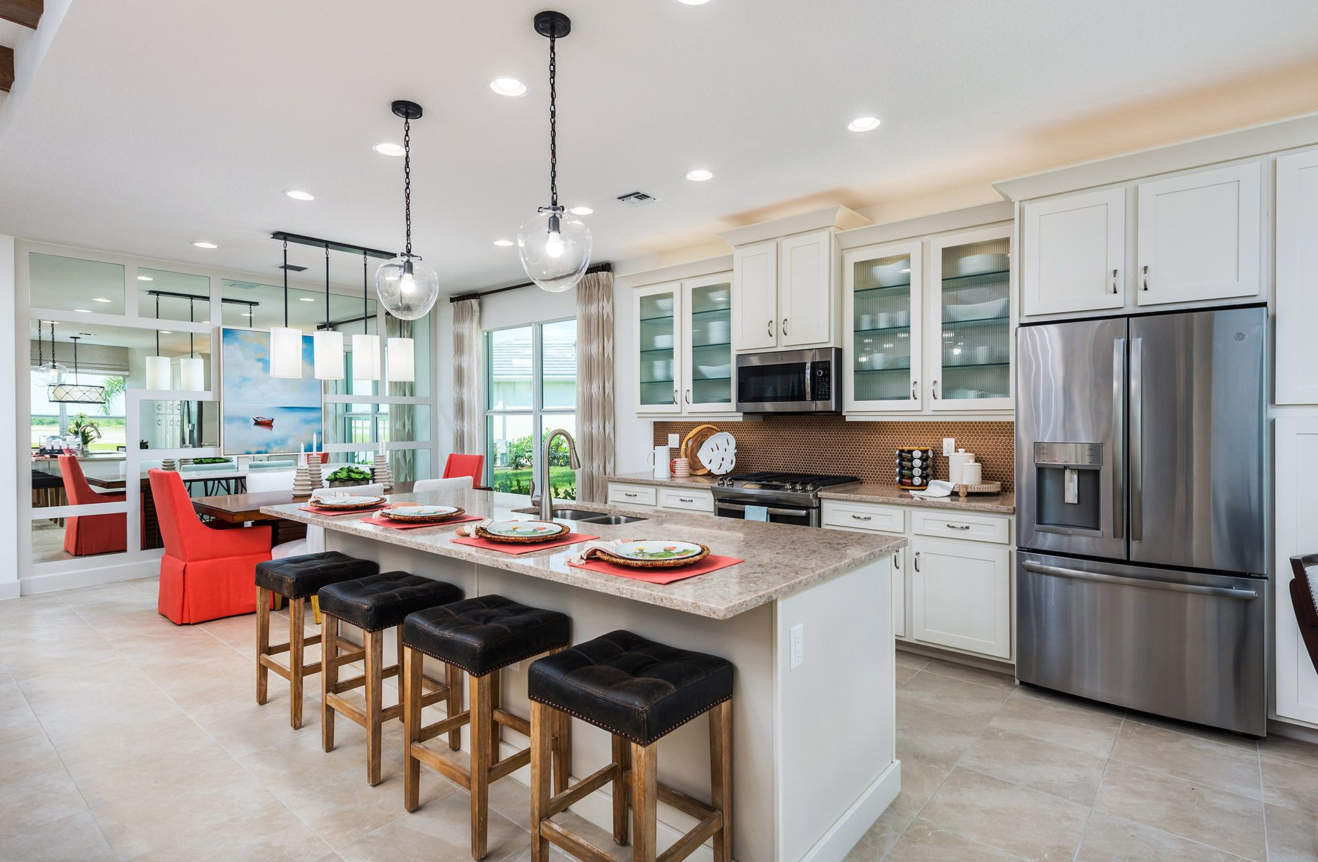 Kitchen featured in the Palazzo By GL Homes in Martin-St. Lucie-Okeechobee Counties, FL