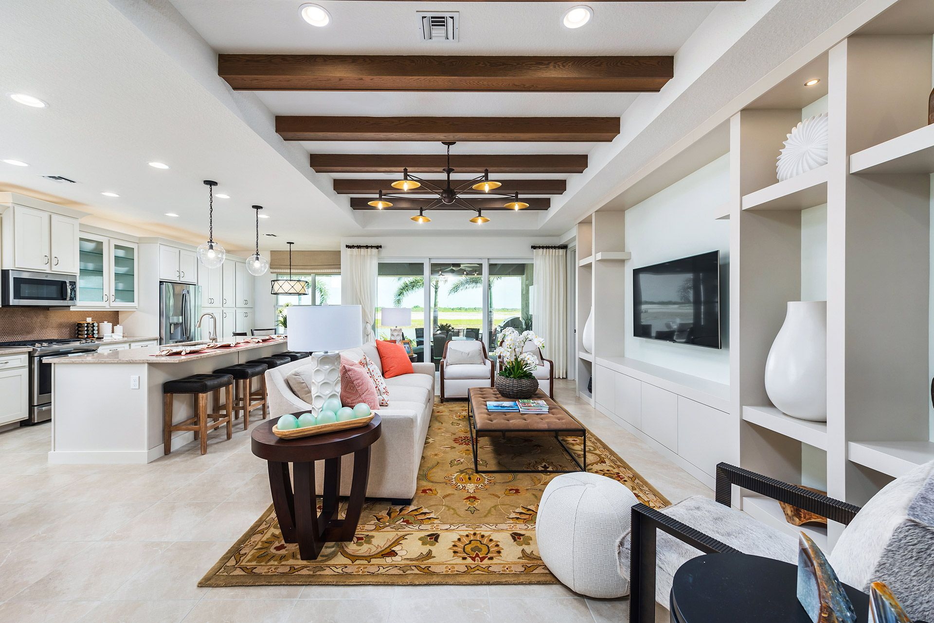 Living Area featured in the Palazzo By GL Homes in Martin-St. Lucie-Okeechobee Counties, FL