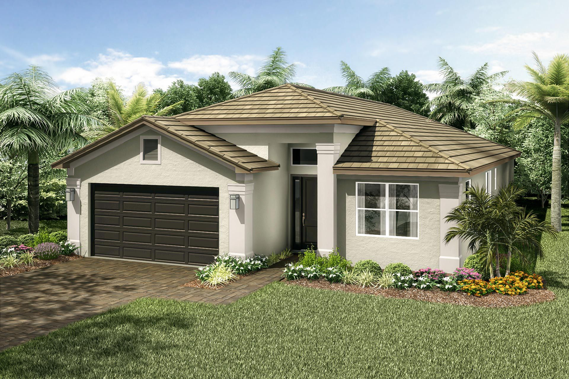 Exterior featured in the Amalfi By GL Homes in Martin-St. Lucie-Okeechobee Counties, FL