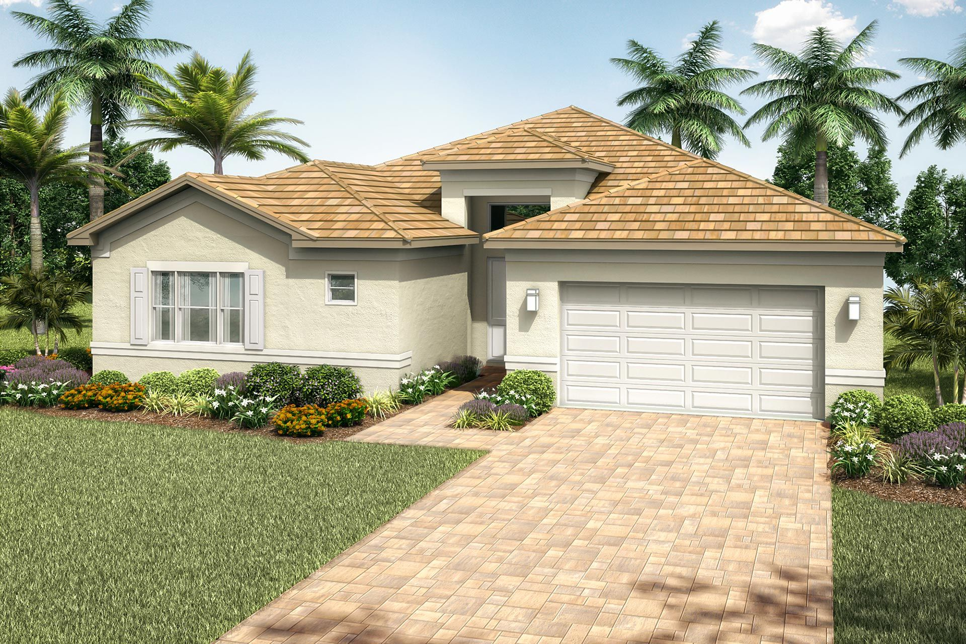 Exterior featured in the Alexandra Grande By GL Homes in Martin-St. Lucie-Okeechobee Counties, FL