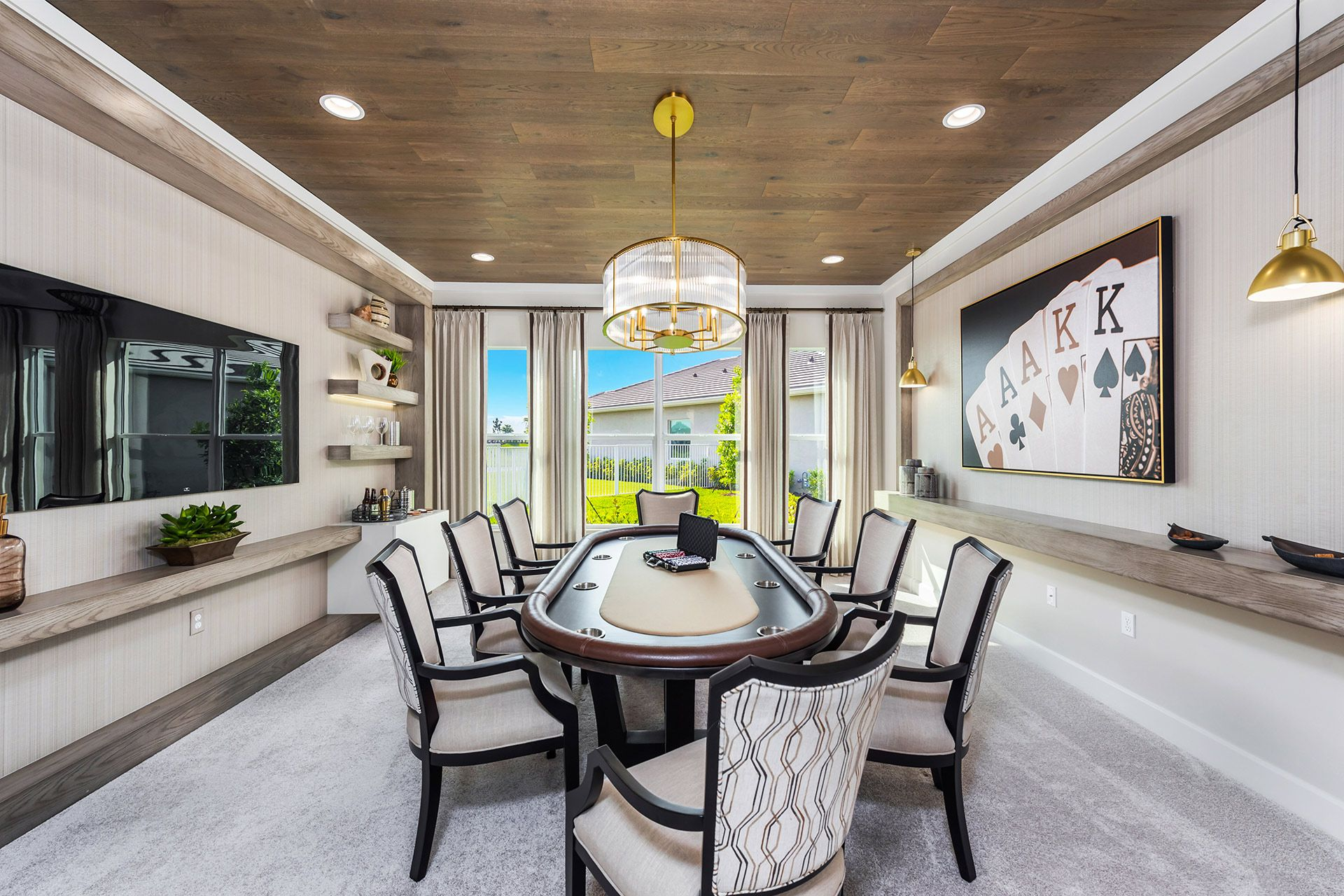 Living Area featured in the Carlyle By GL Homes in Martin-St. Lucie-Okeechobee Counties, FL