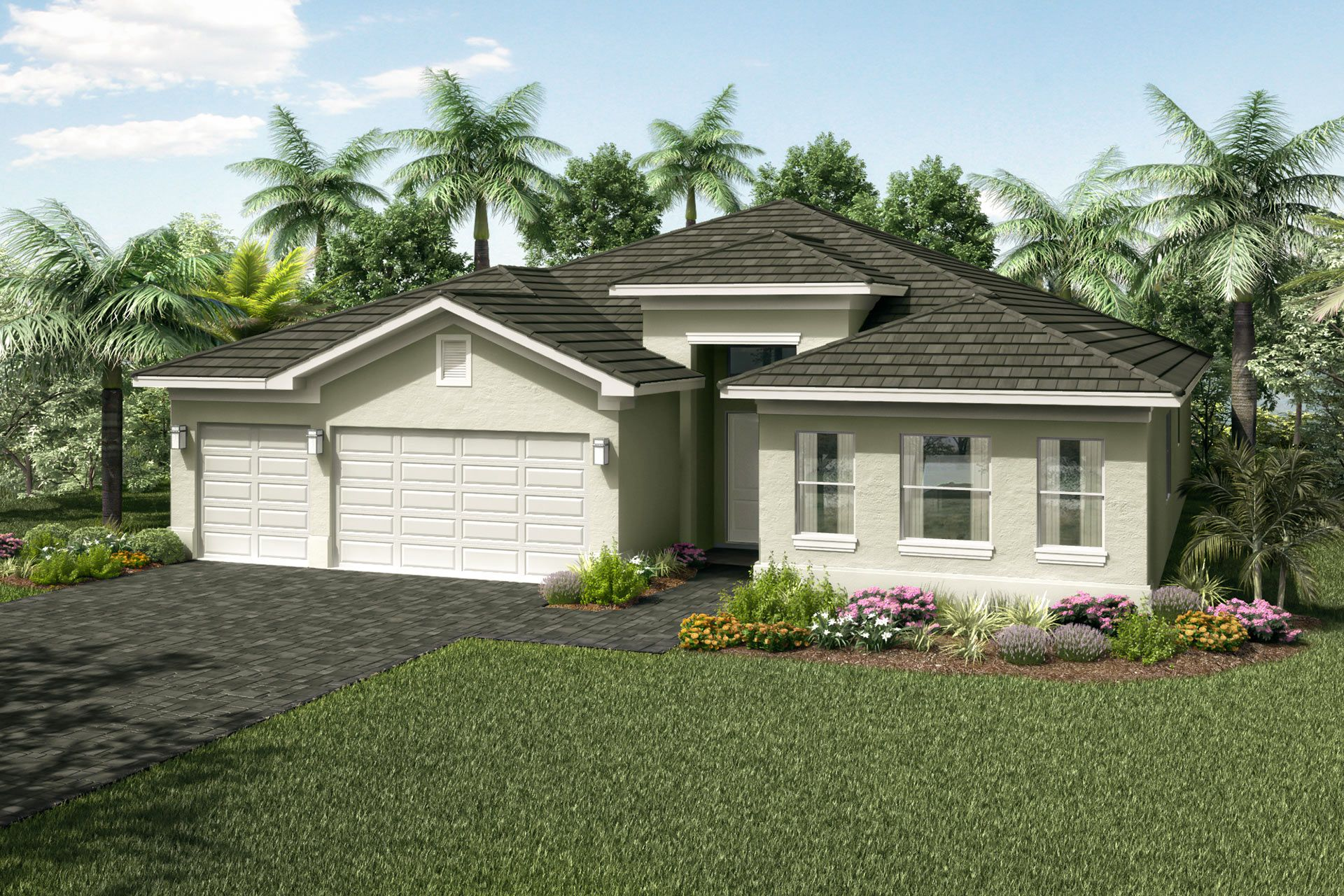 Exterior featured in the Charleston Grande By GL Homes in Martin-St. Lucie-Okeechobee Counties, FL