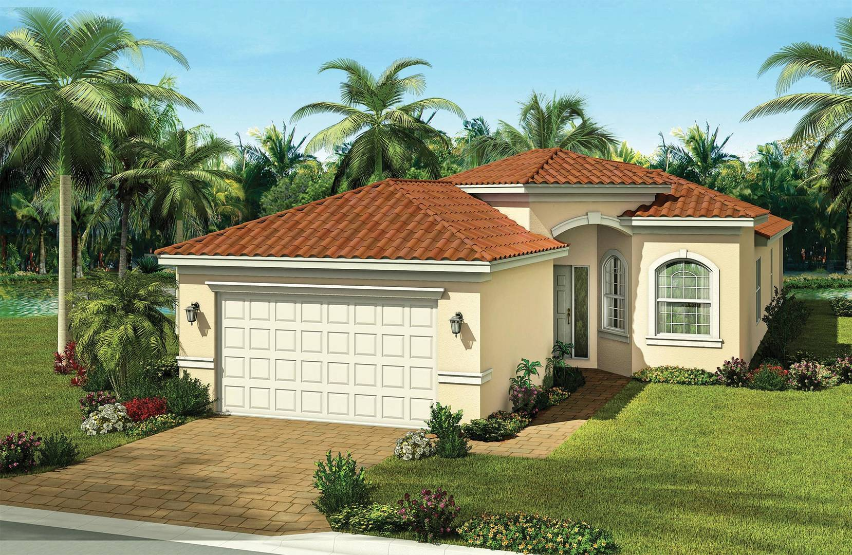 Exterior featured in the Marsala By GL Homes in Tampa-St. Petersburg, FL