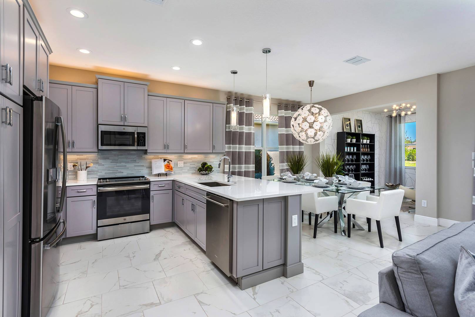 Kitchen featured in the Bella By GL Homes in Tampa-St. Petersburg, FL
