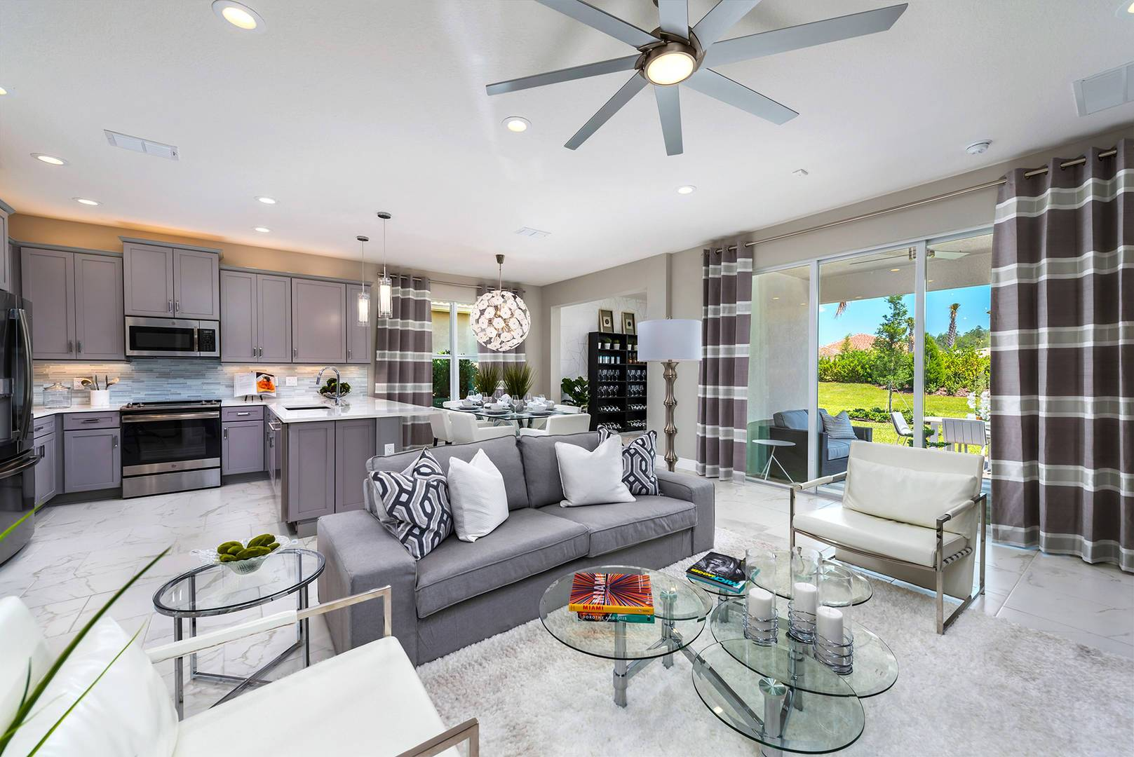 Living Area featured in the Bella By GL Homes in Tampa-St. Petersburg, FL