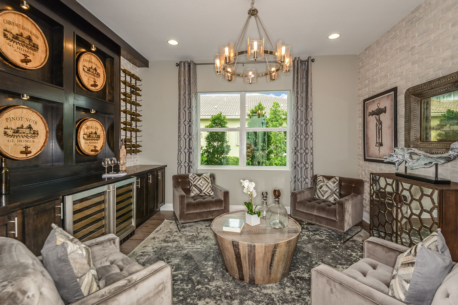 Living Area featured in the Aruba By GL Homes in Tampa-St. Petersburg, FL