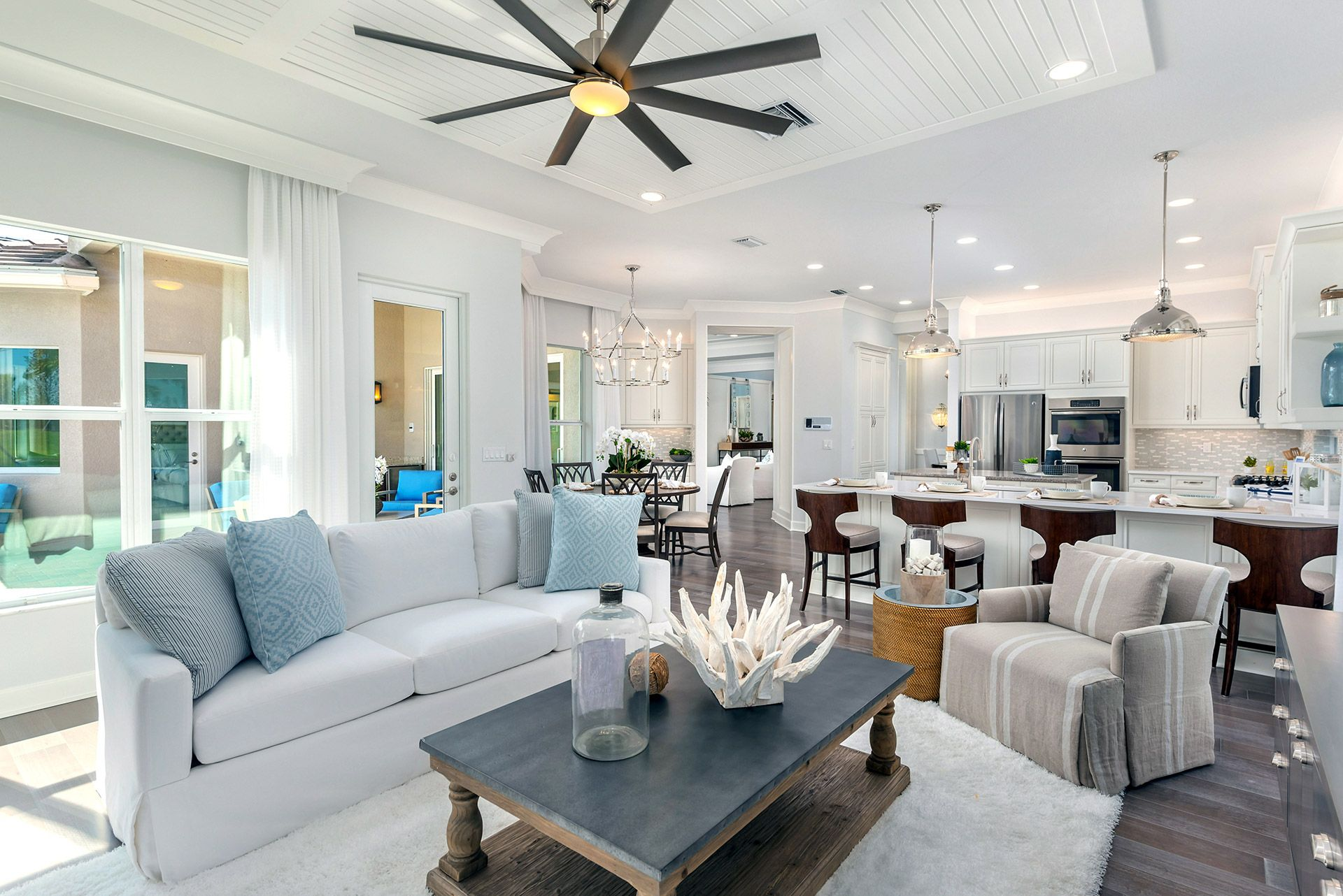 Living Area featured in the Charleston Grande By GL Homes in Tampa-St. Petersburg, FL