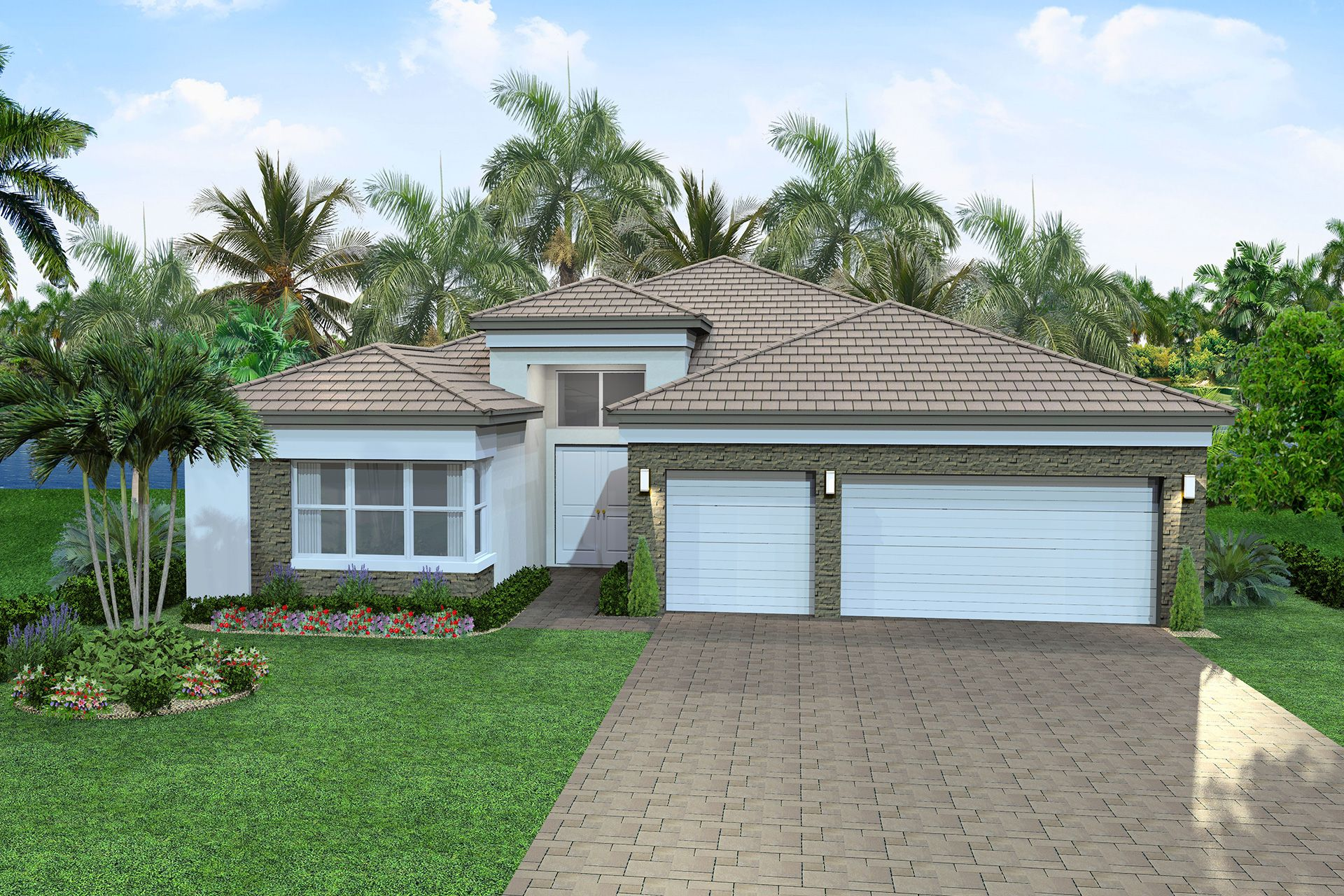 Exterior featured in the Julia By GL Homes in Palm Beach County, FL
