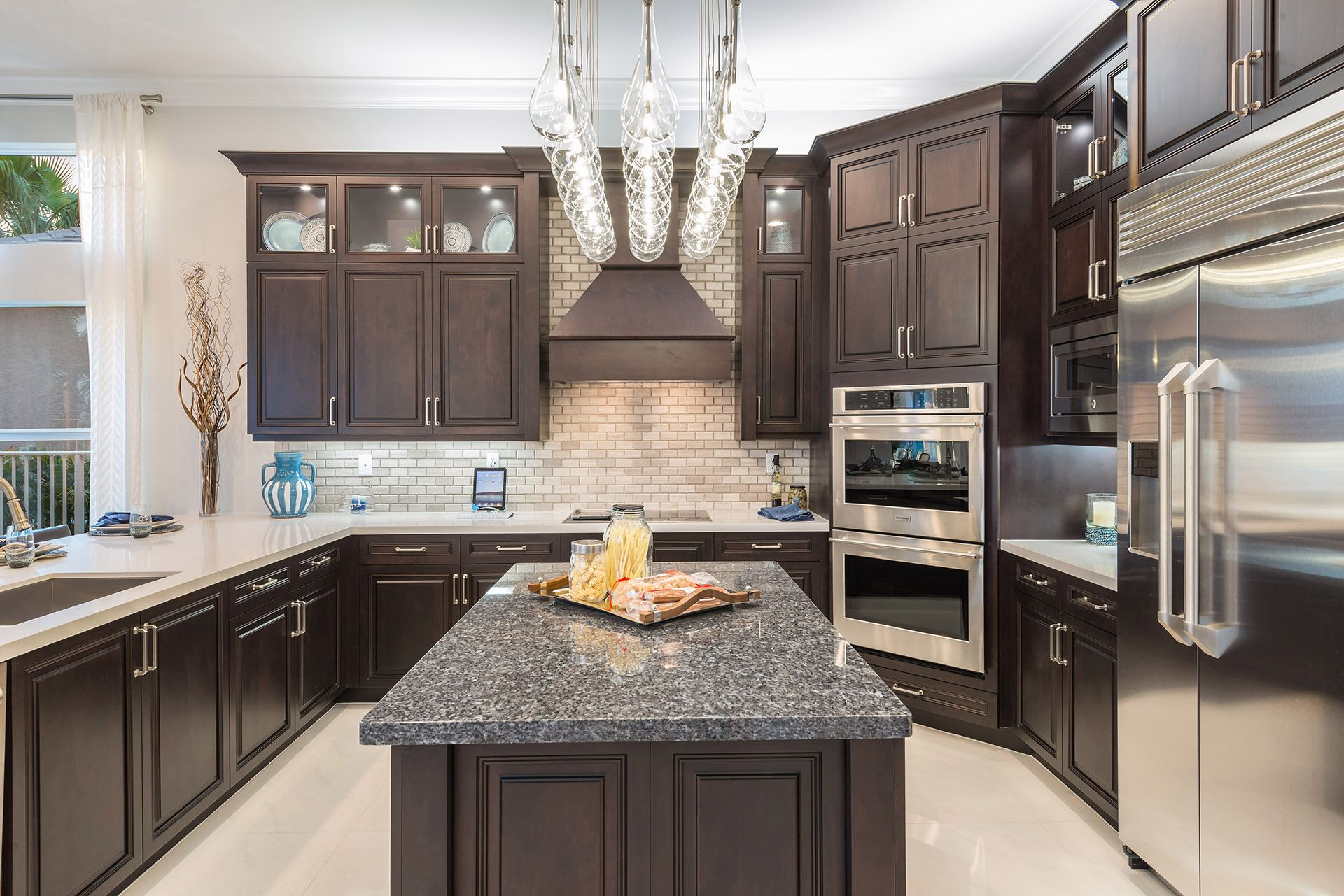 Kitchen featured in the Charleston Grande By GL Homes in Palm Beach County, FL