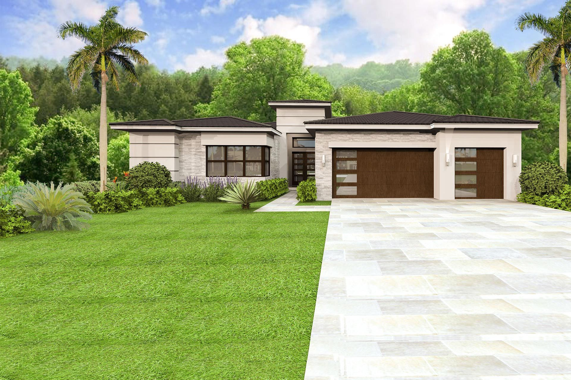 Exterior featured in the Charleston Grande Contemporary By GL Homes in Palm Beach County, FL