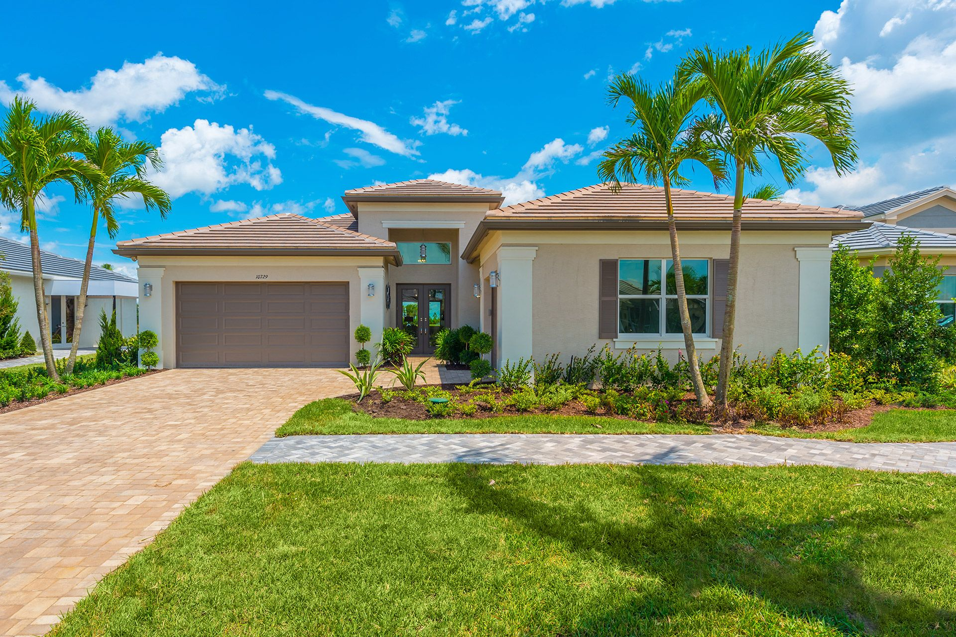 Exterior featured in the Caroline By GL Homes in Martin-St. Lucie-Okeechobee Counties, FL