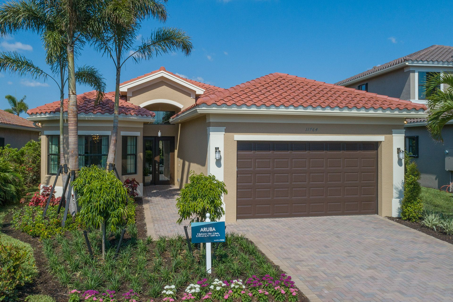Exterior featured in the Aruba By GL Homes in Tampa-St. Petersburg, FL