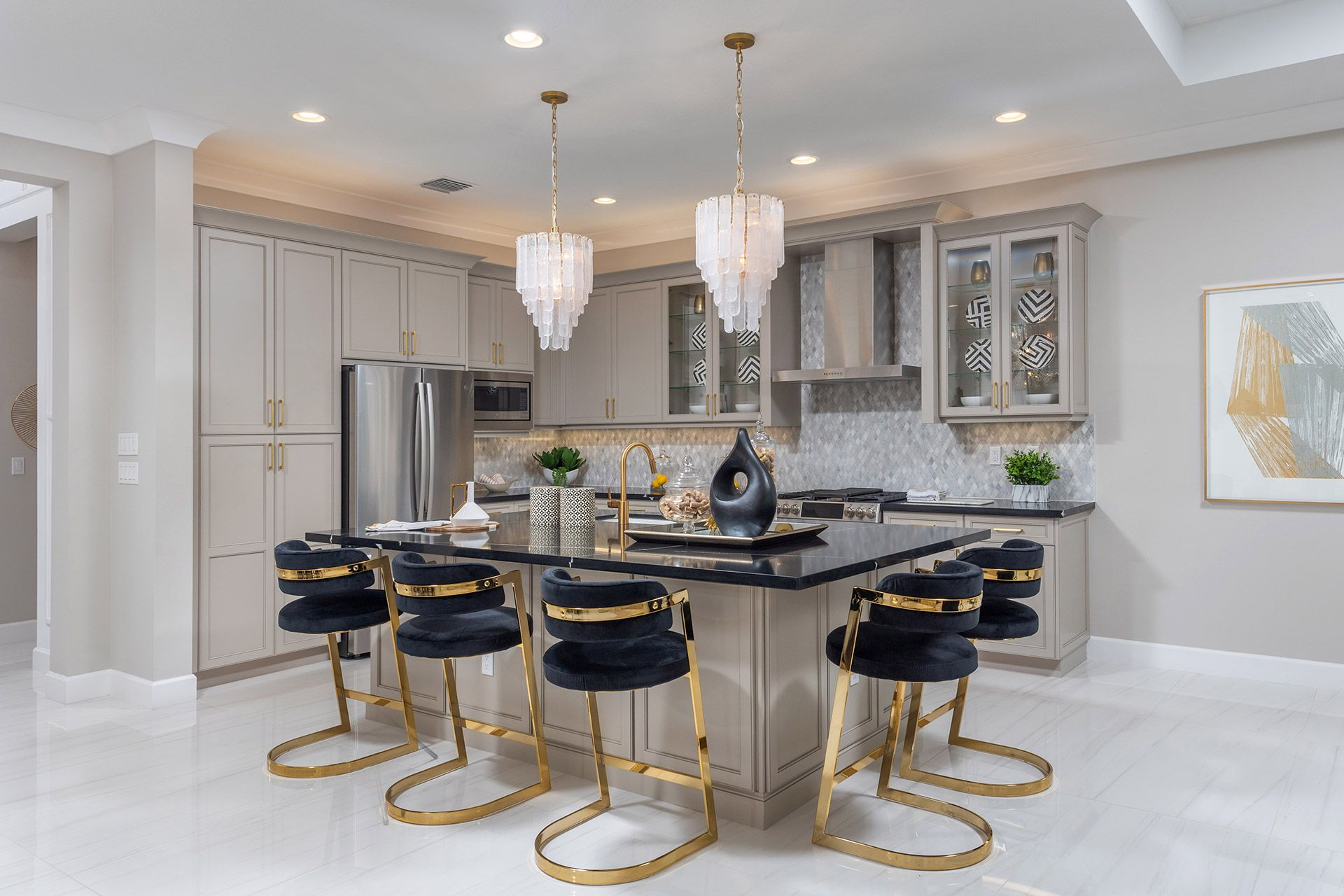 Kitchen featured in the Vienna By GL Homes in Palm Beach County, FL