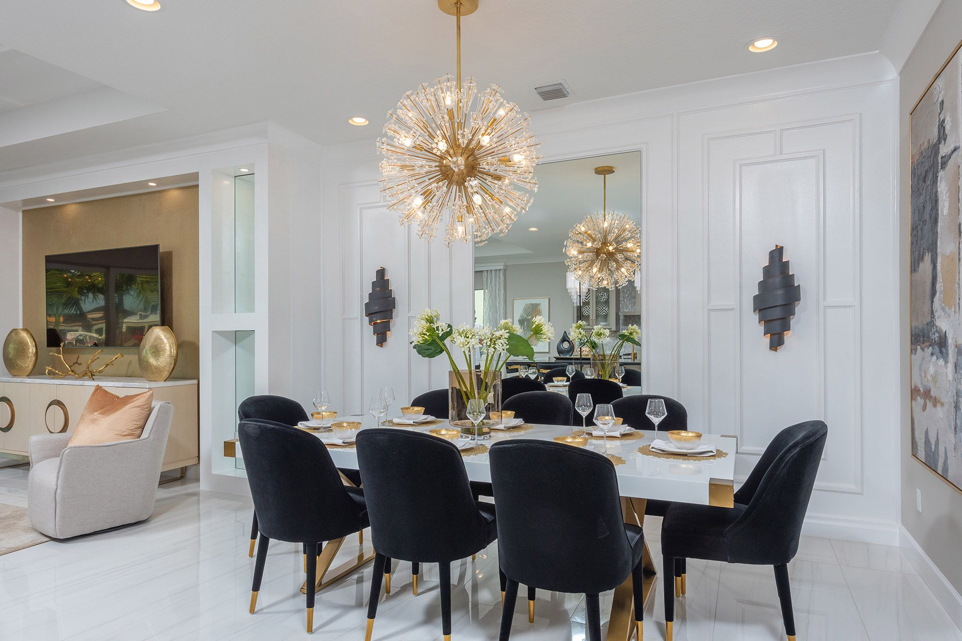 Living Area featured in the Vienna By GL Homes in Palm Beach County, FL