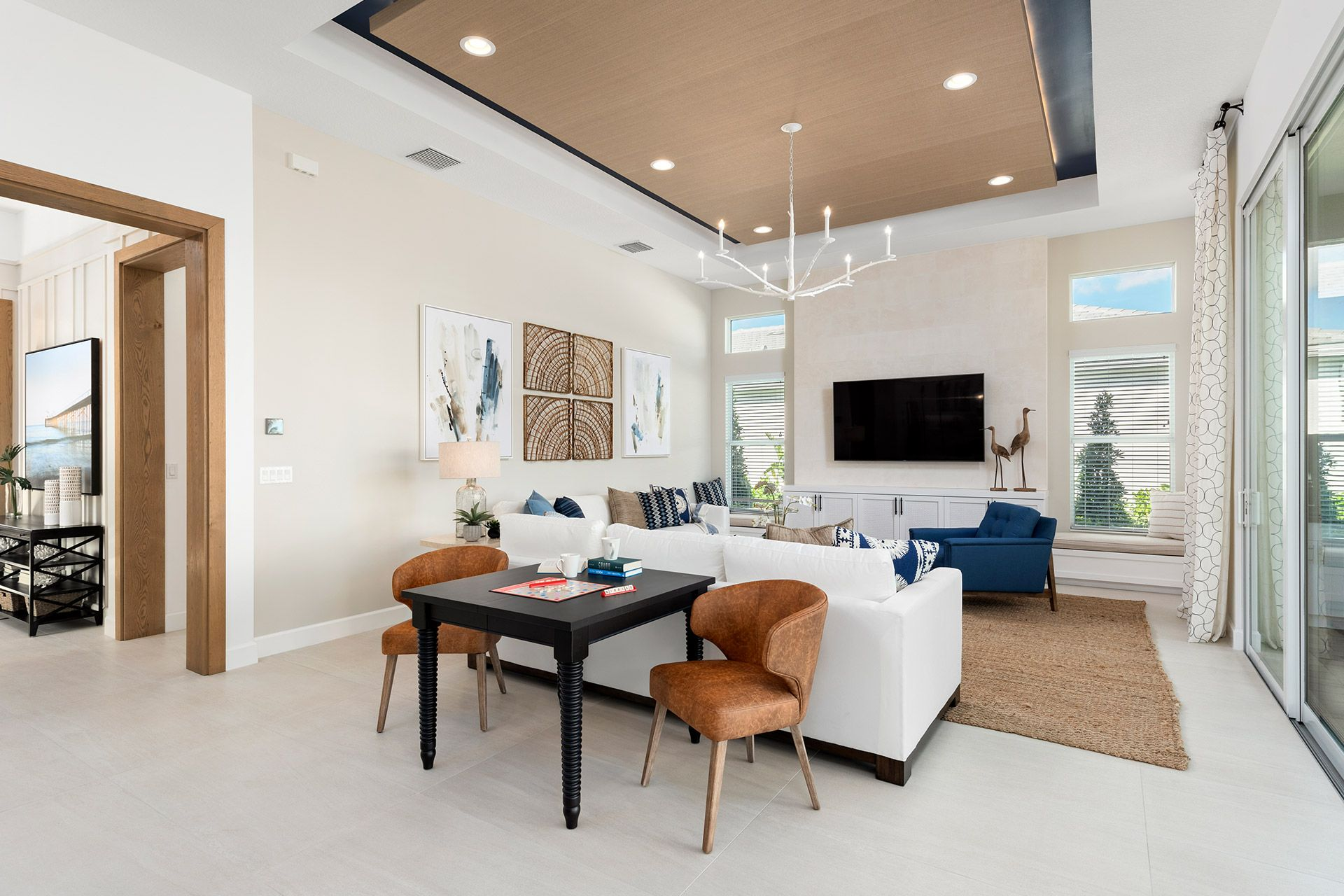Living Area featured in the Aruba By GL Homes in Palm Beach County, FL