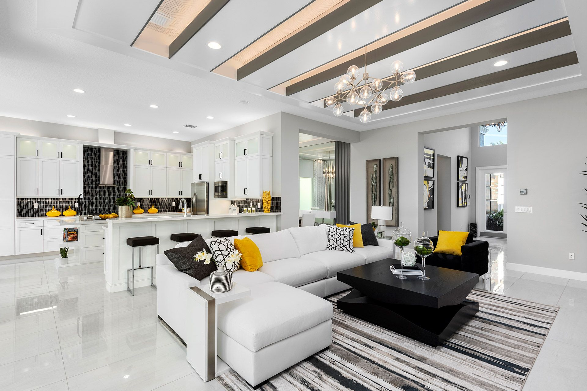 Living Area featured in the Caroline By GL Homes in Palm Beach County, FL