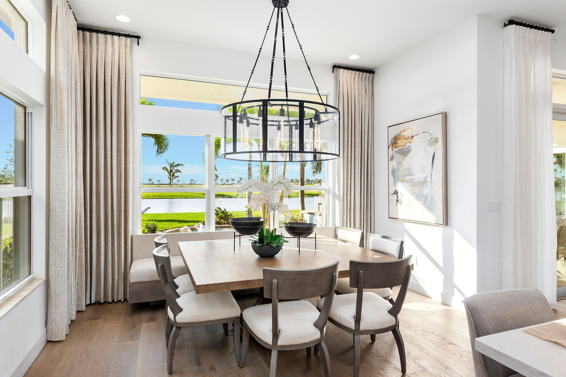 Living Area featured in the Jade By GL Homes in Palm Beach County, FL