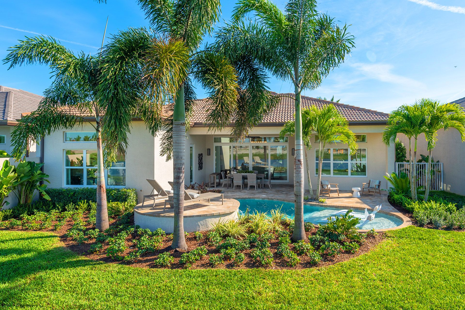 Exterior featured in the Jade By GL Homes in Palm Beach County, FL
