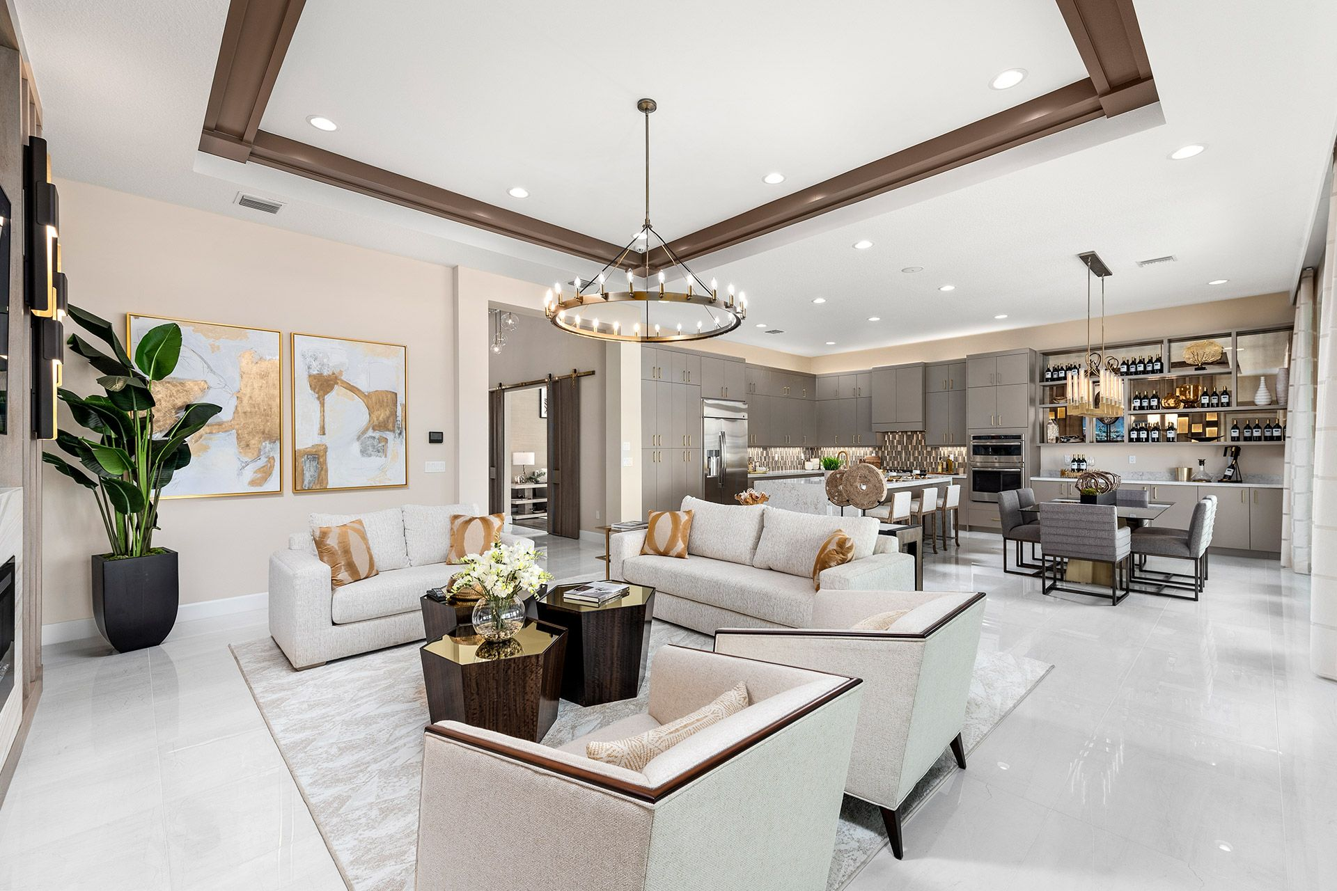 Living Area featured in the Napa By GL Homes in Palm Beach County, FL