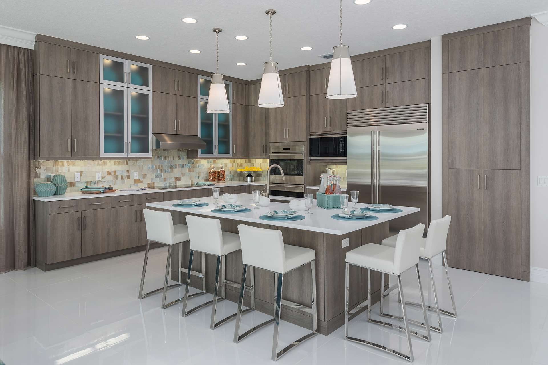 Kitchen featured in the Sonoma By GL Homes in Palm Beach County, FL
