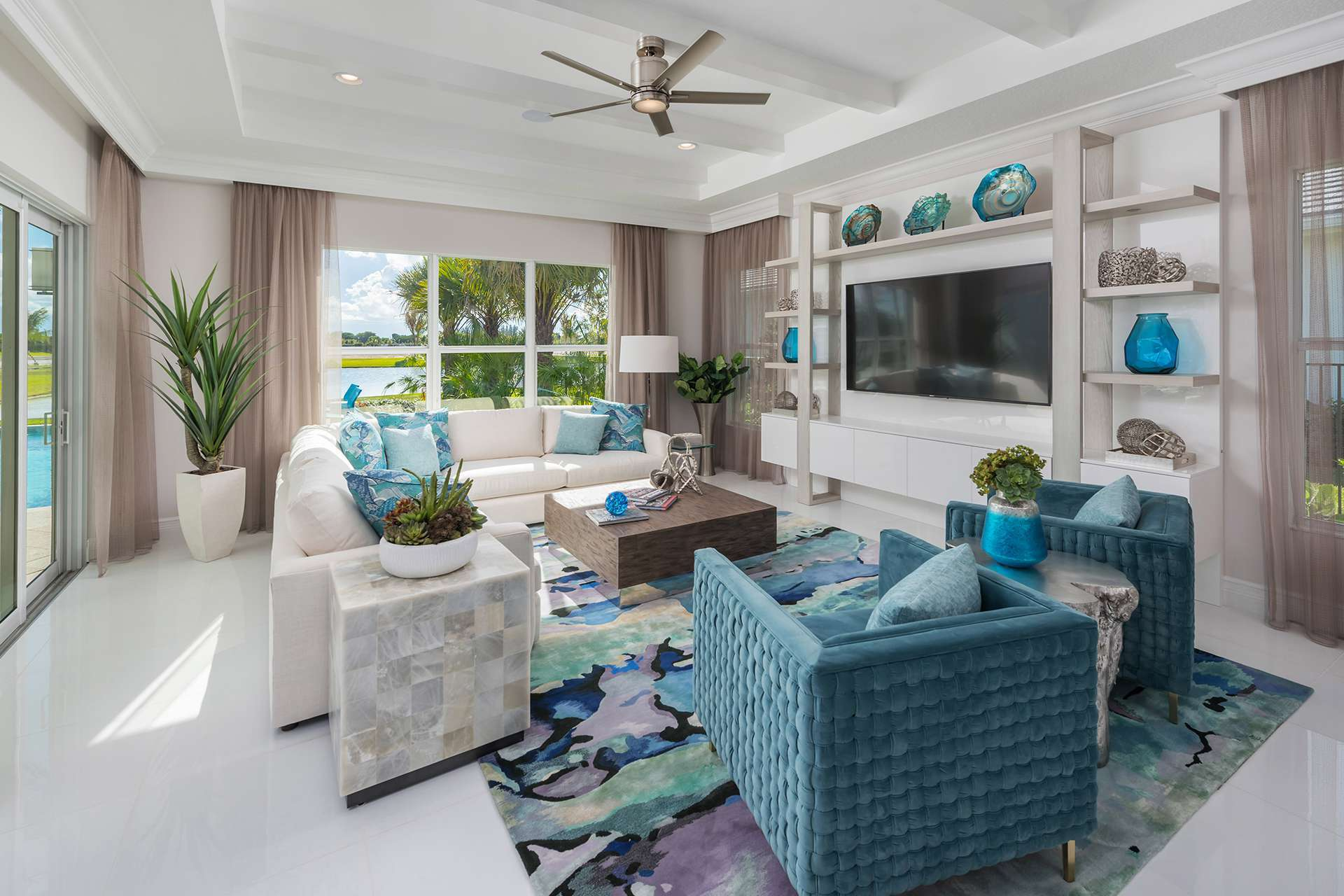Living Area featured in the Sonoma By GL Homes in Palm Beach County, FL