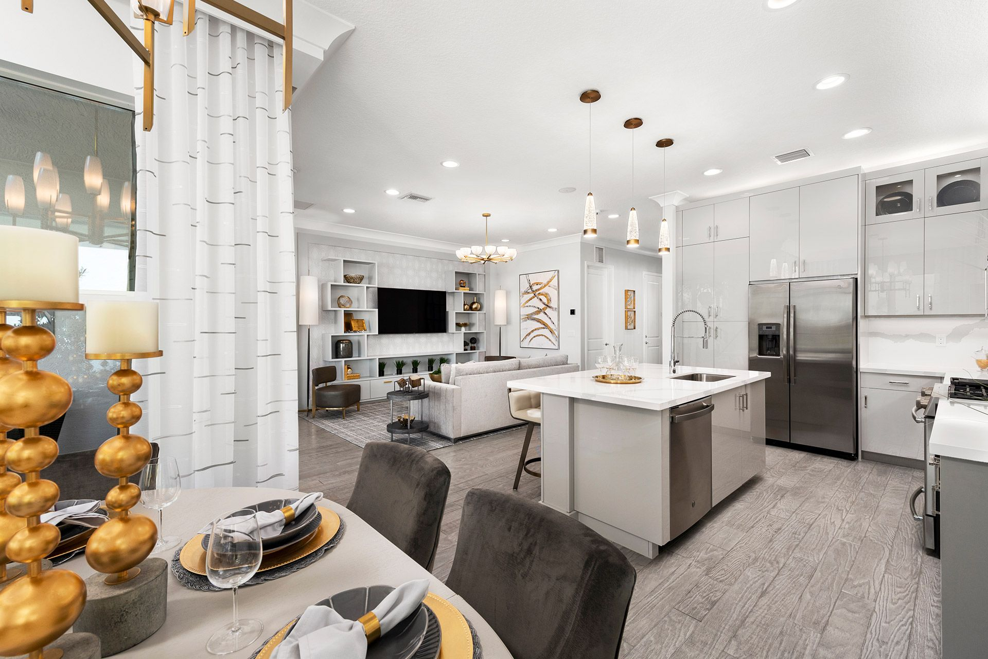 Kitchen featured in the Isabella By GL Homes in Tampa-St. Petersburg, FL