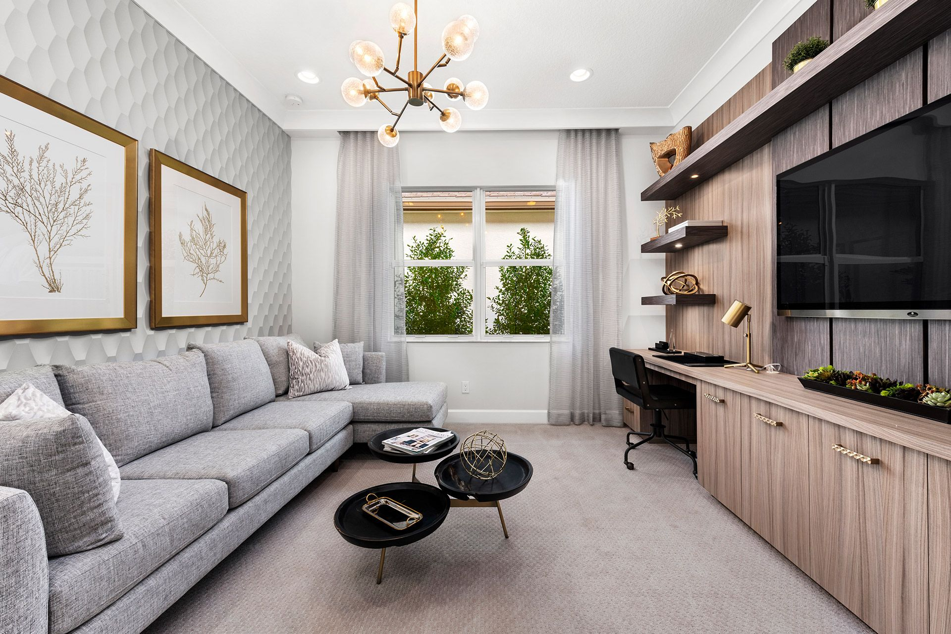 Living Area featured in the Isabella By GL Homes in Tampa-St. Petersburg, FL