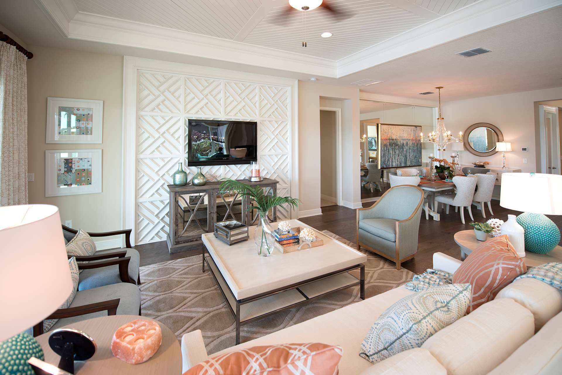 Living Area featured in the Cedar By GL Homes in Tampa-St. Petersburg, FL