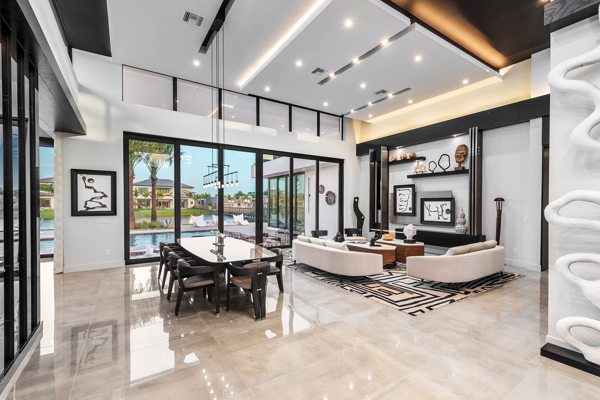 Living Area featured in the Warhol By GL Homes in Palm Beach County, FL
