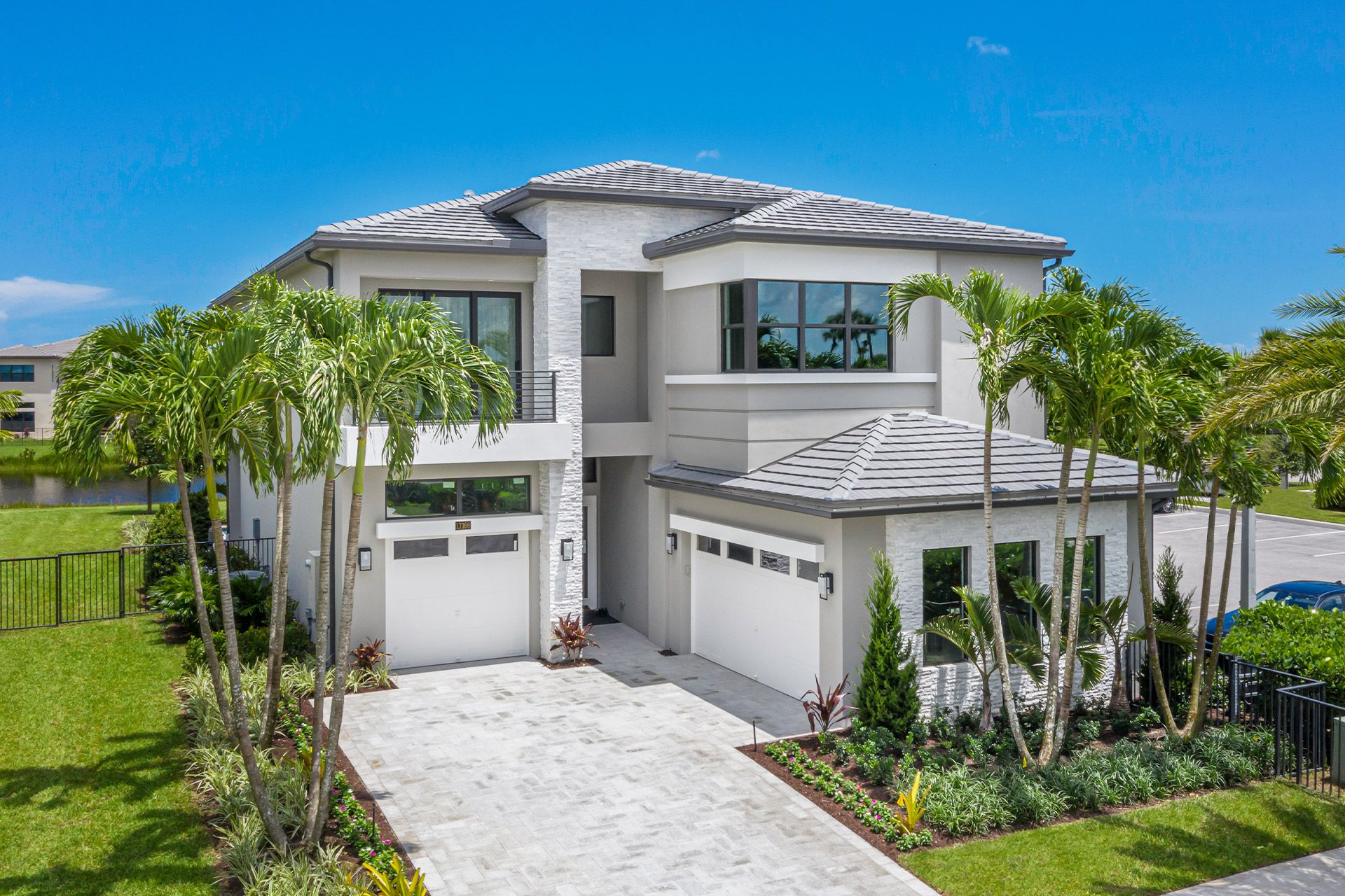 Exterior featured in the Florence Contemporary By GL Homes in Palm Beach County, FL