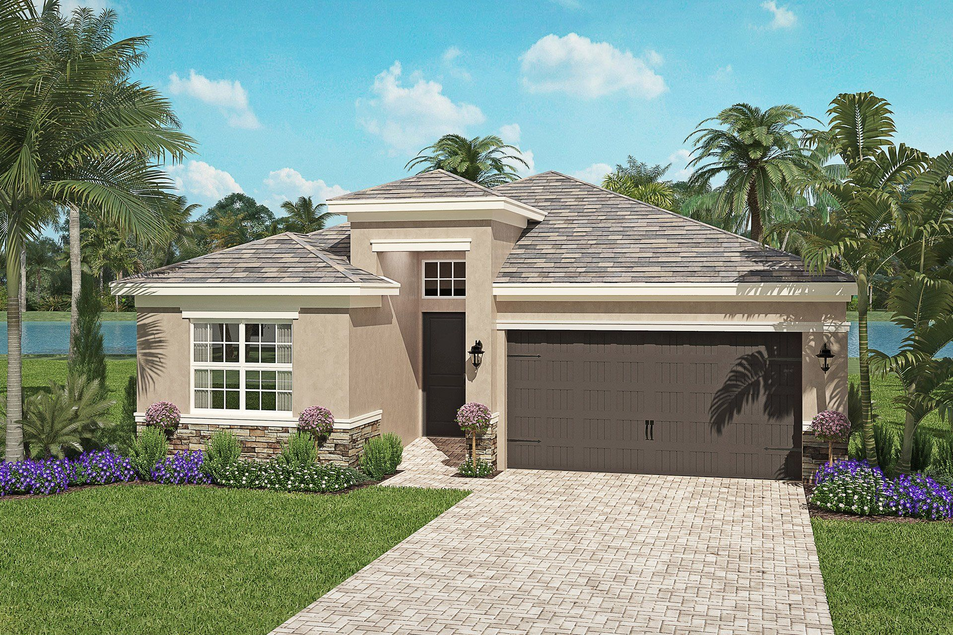 Exterior featured in the Isabella By GL Homes in Tampa-St. Petersburg, FL