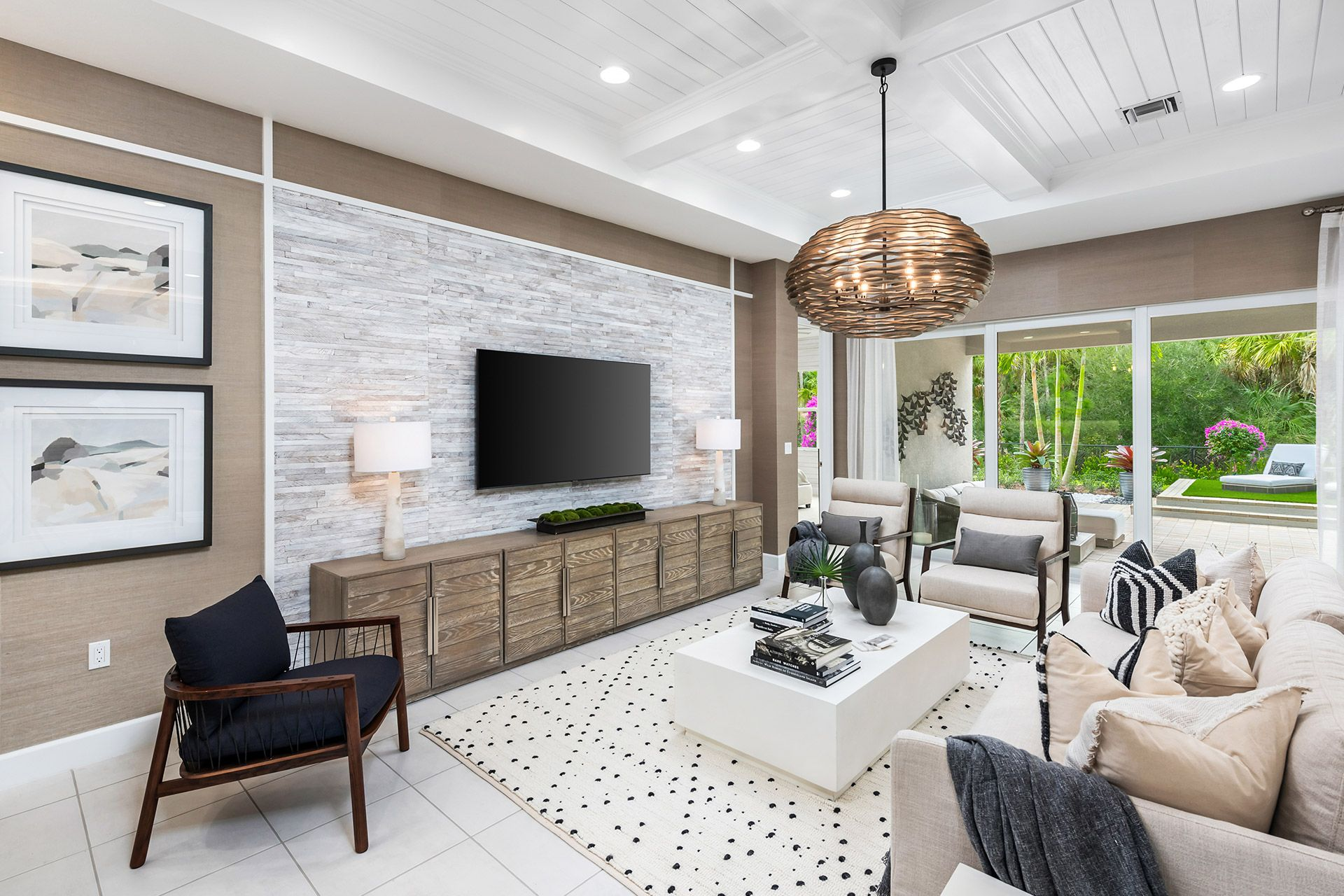 Living Area featured in the Nautilus By GL Homes in Naples, FL