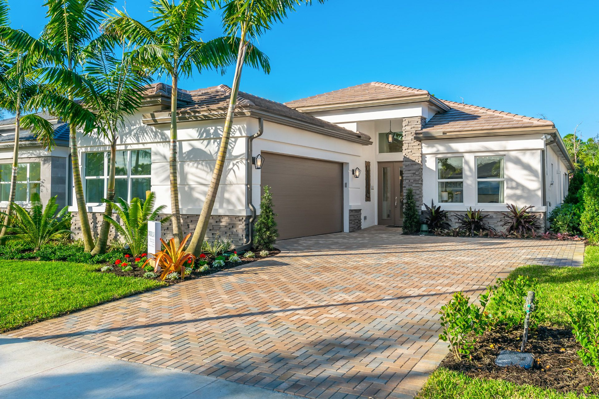 Exterior featured in the Sanddollar By GL Homes in Naples, FL