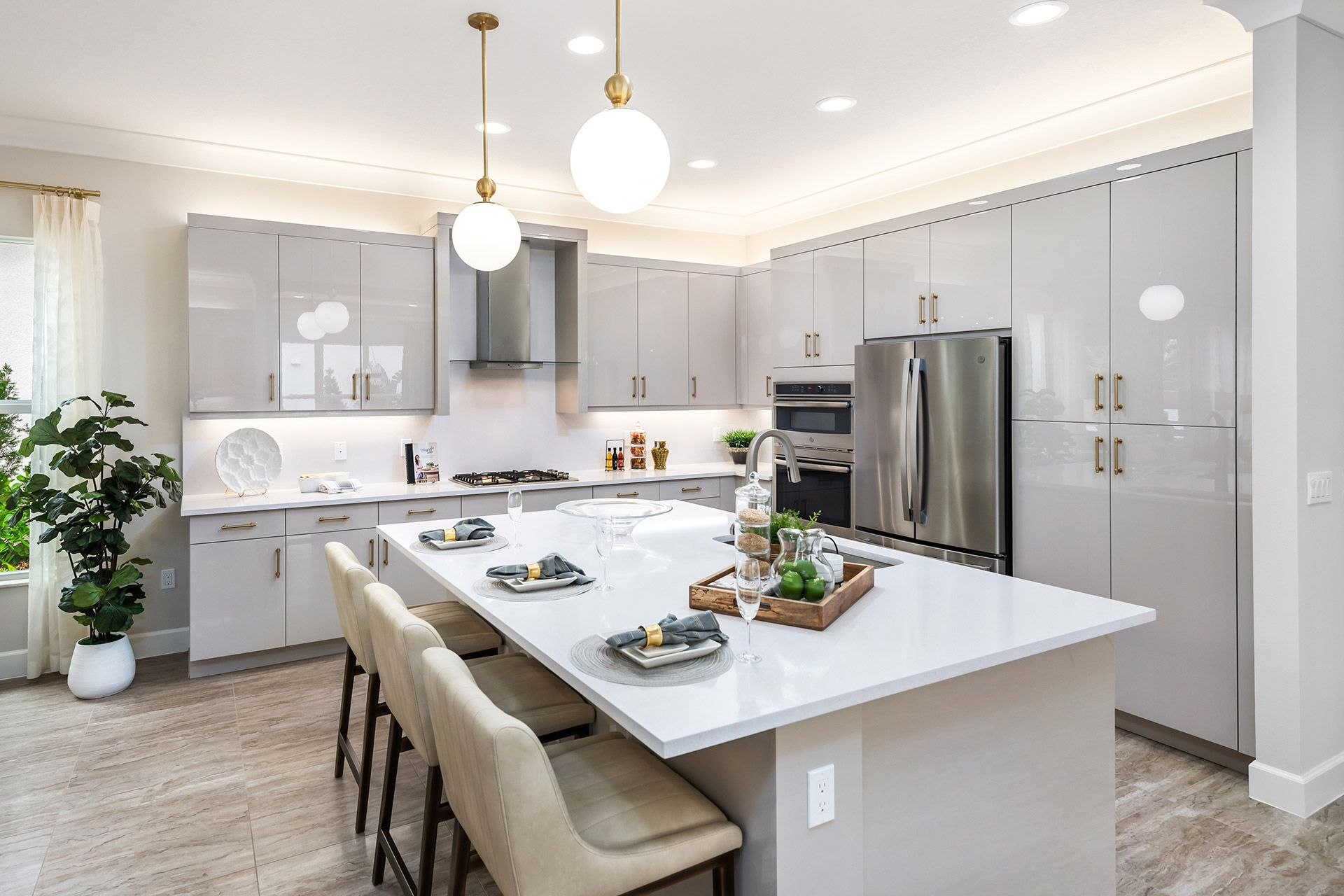 Kitchen featured in the Sanddollar By GL Homes in Naples, FL
