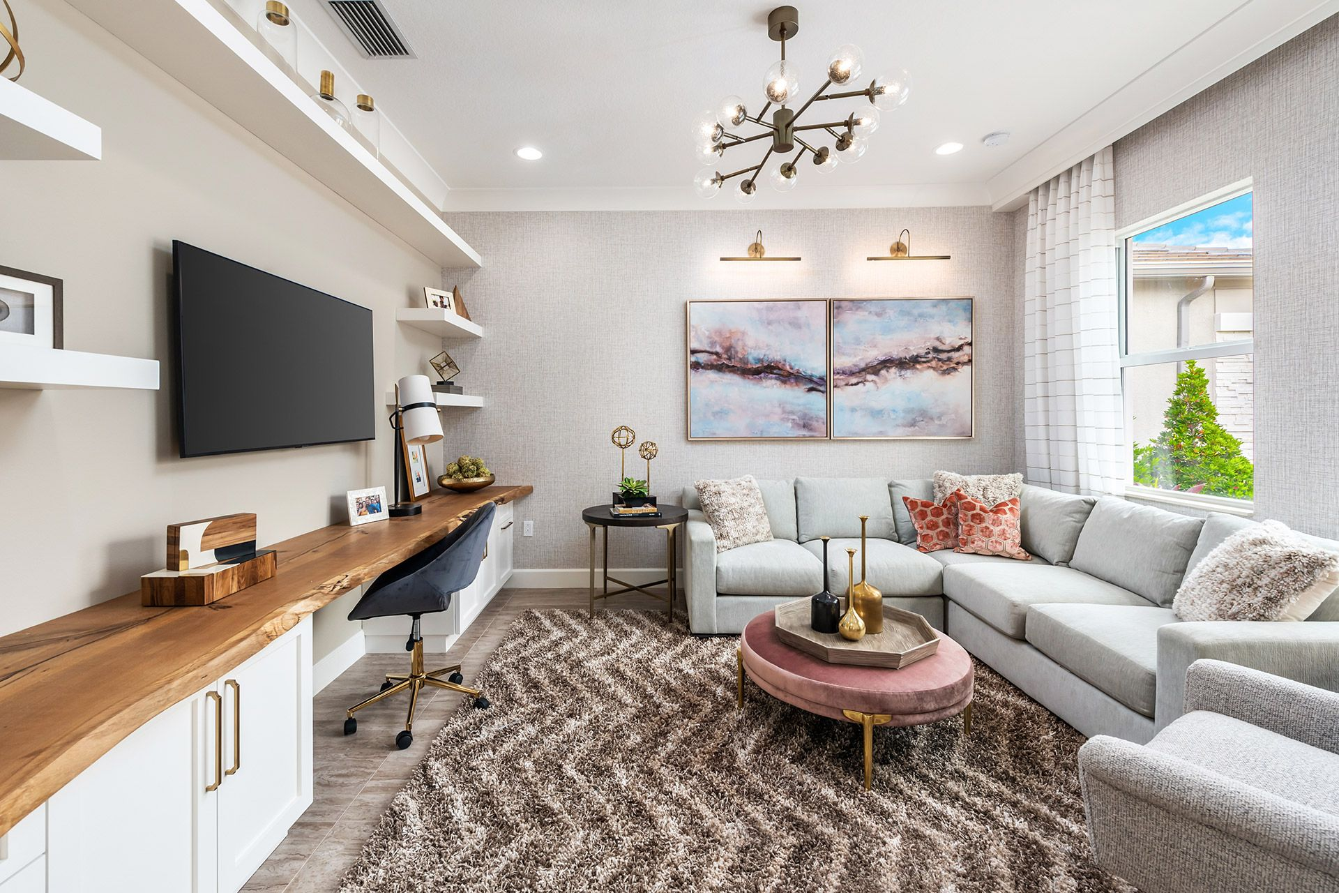 Living Area featured in the Sanddollar By GL Homes in Naples, FL