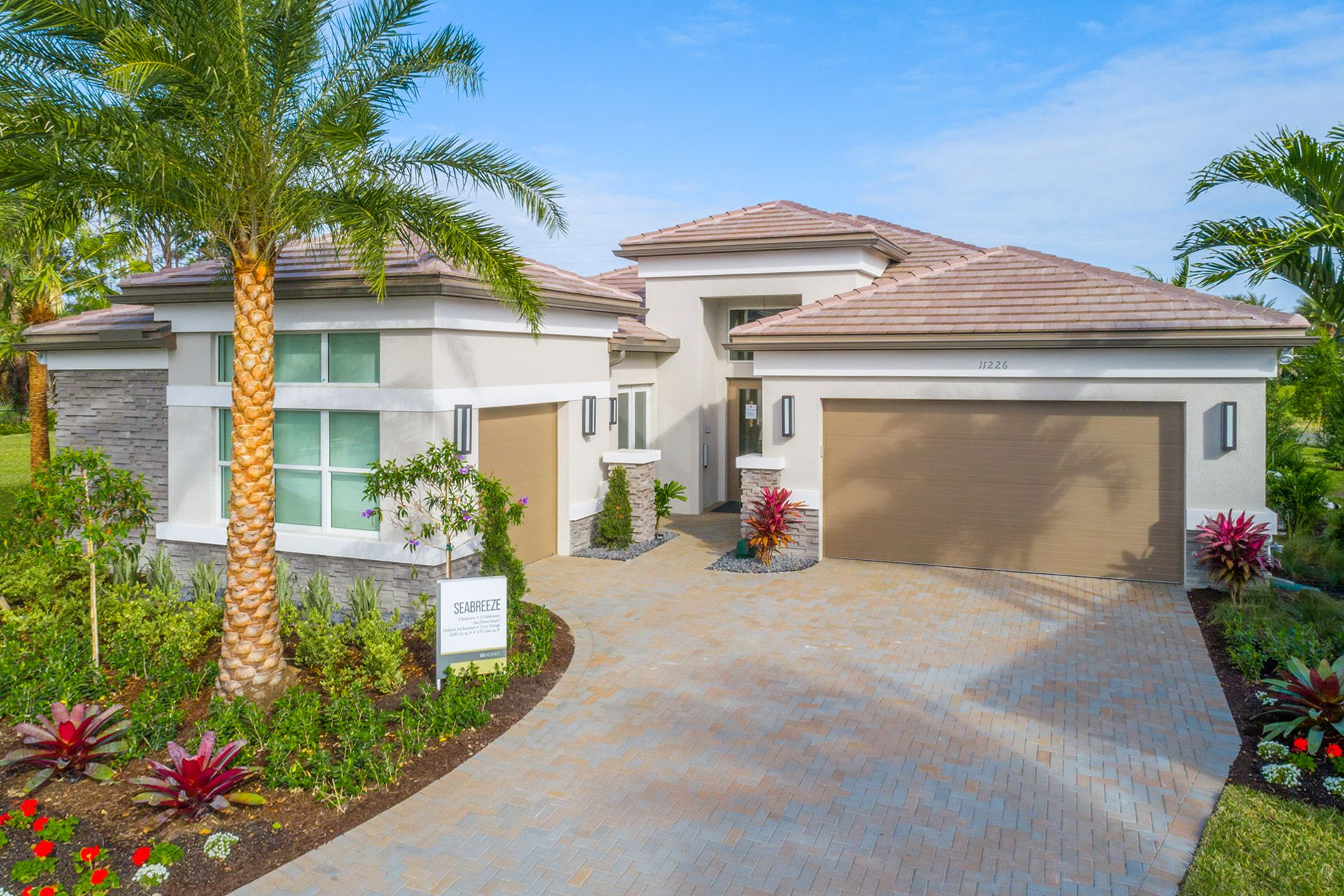 Exterior featured in the Seabreeze By GL Homes in Naples, FL