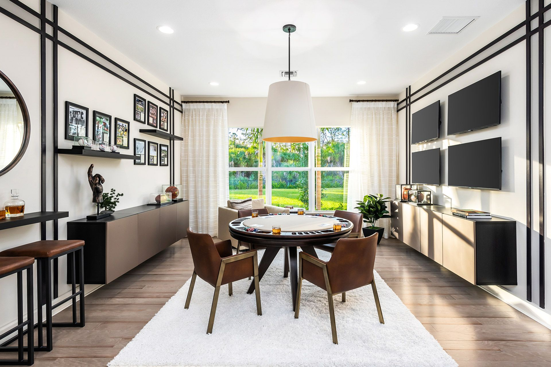 Living Area featured in the Seabreeze By GL Homes in Naples, FL