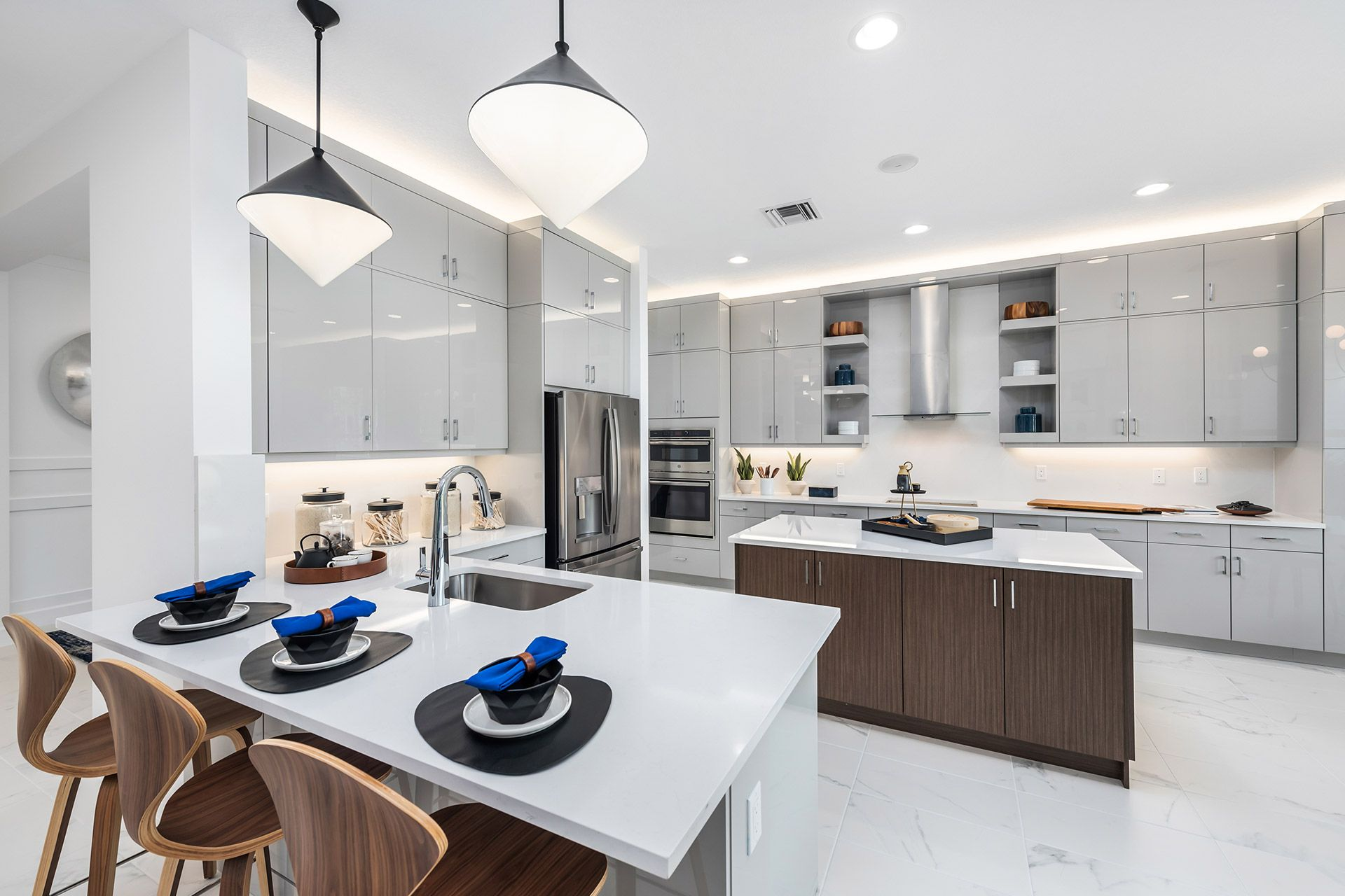 Kitchen featured in the Marina By GL Homes in Naples, FL