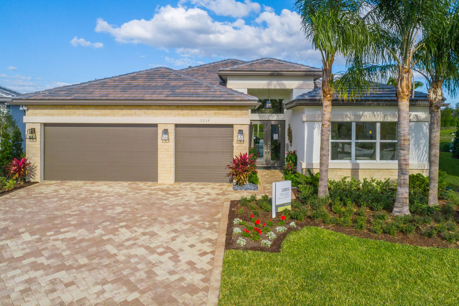 Exterior featured in the Sunrise By GL Homes in Naples, FL