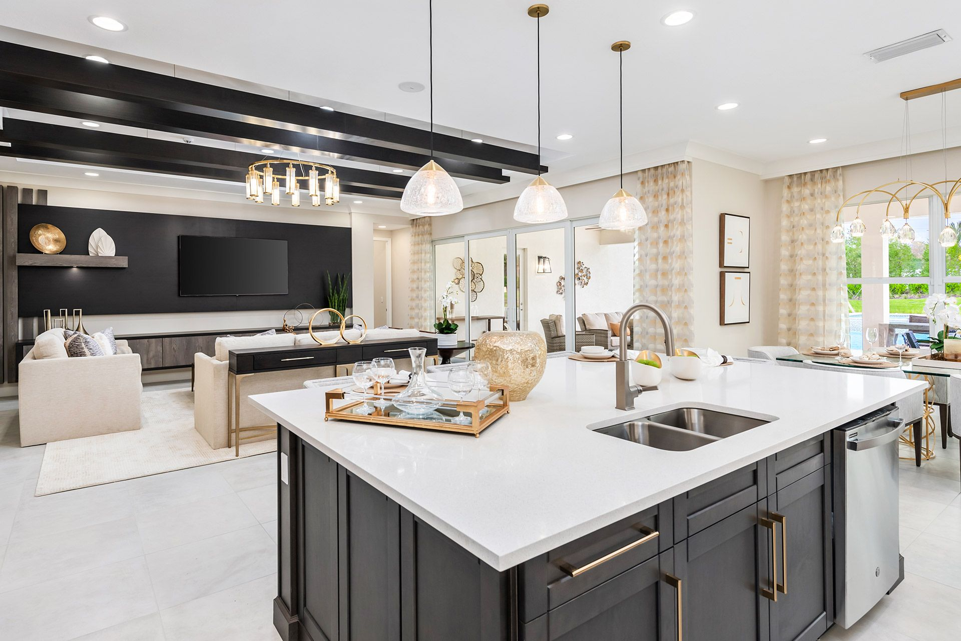 Kitchen featured in the Sunrise By GL Homes in Naples, FL