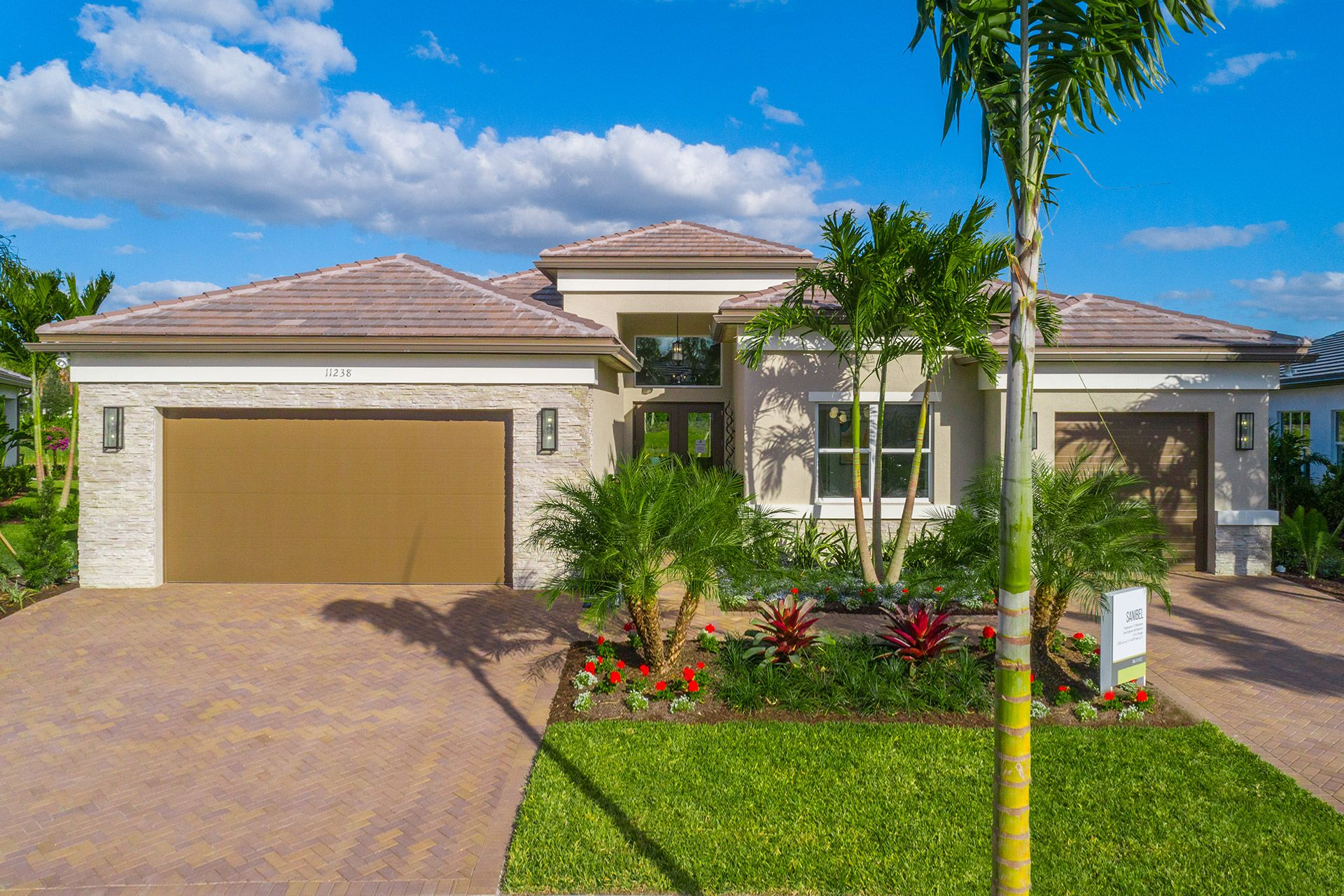 Exterior featured in the Sanibel By GL Homes in Naples, FL