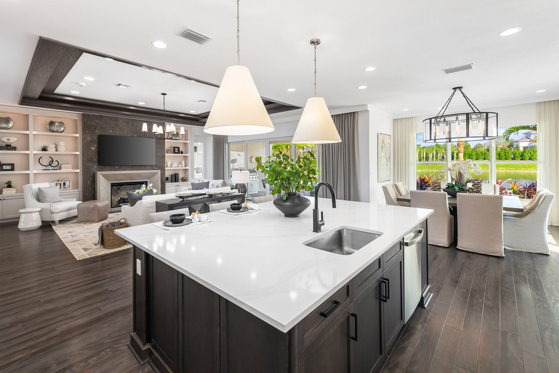 Kitchen featured in the Sanibel By GL Homes in Naples, FL