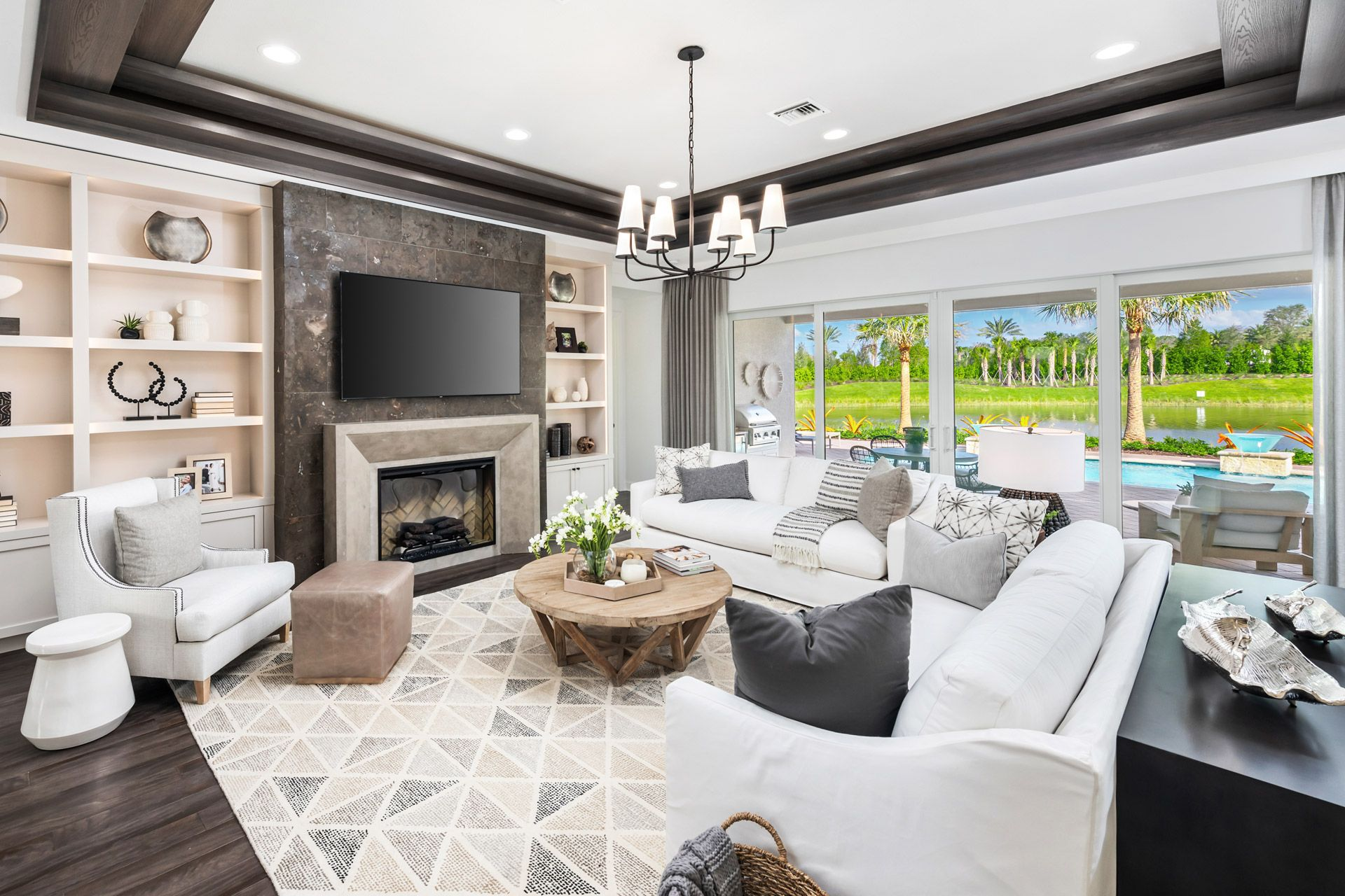 Living Area featured in the Sanibel By GL Homes in Naples, FL
