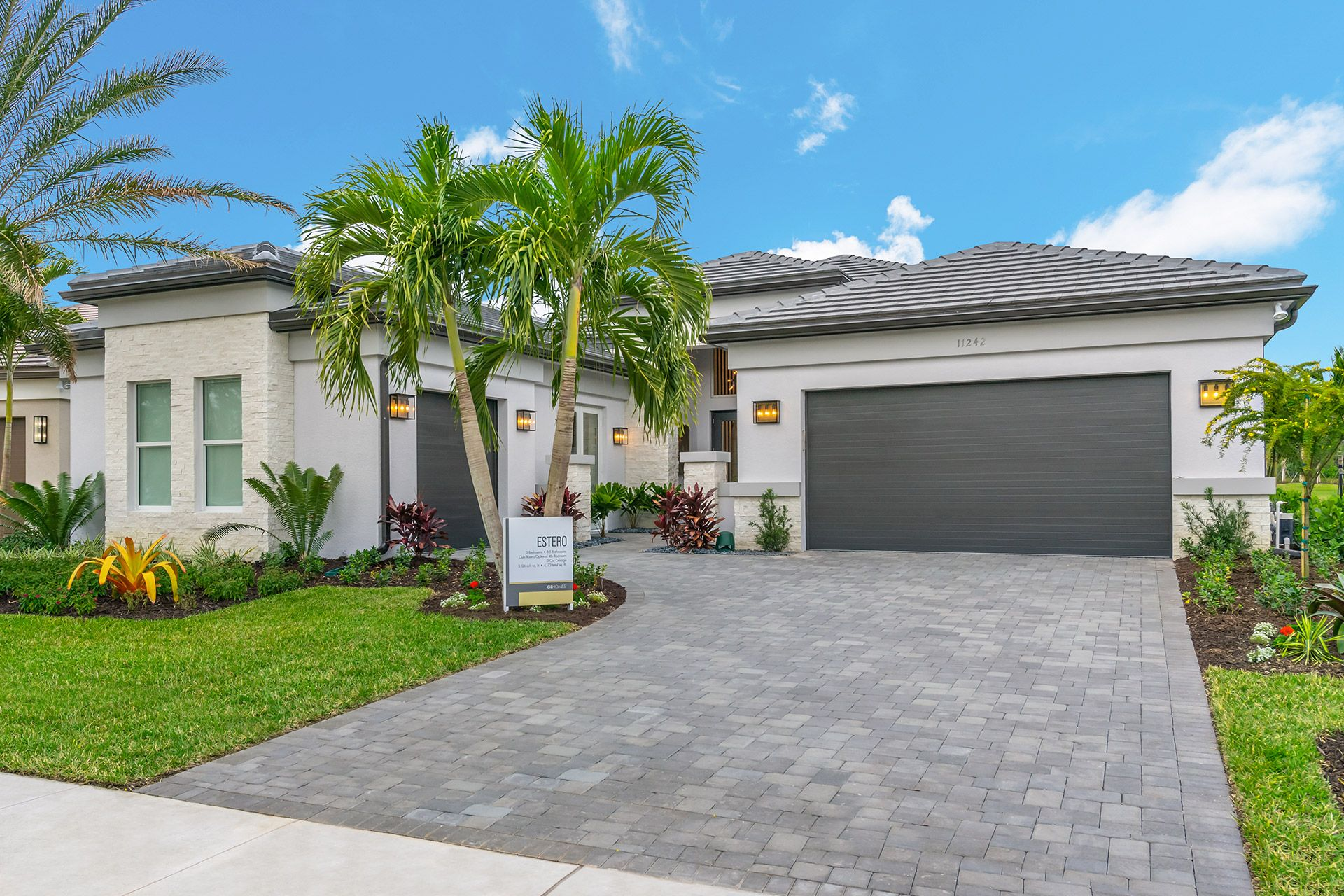 Exterior featured in the Estero By GL Homes in Naples, FL